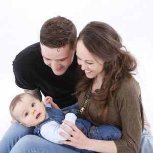 Family Portraiture with new born baby